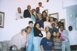 FAMILY GATHERING AT DEBRA HARRISON-FLETCHER(VESTURA'S DAUGHTER,LADELL WHITMAN'S GRANDDAUGHTER)AUNT BLANCHE IN CENTER,