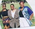 LADELL WHITMAN-HODGES'S GRANDDAUGHTER'S: JAYNES DENESE (L), DWANA DELORES (C) AND DEBRA ANN (R)