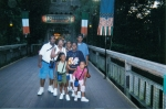 The Taylor Family - Frank & Carol Taylor (Willie George's daughter) and children: front l-r Jalyn, Courtney, Octavia- c
