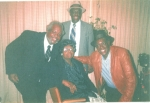 Christine Walton-Kelly (sons): l-r Charles, Morris, (back) Johnny, (center) their mother's oldest sister (Thressia Walt